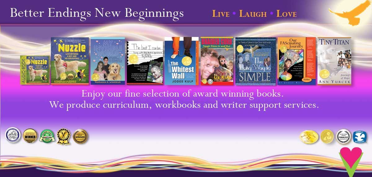 Better Endings New Beginnings helps in publishing books to build a voice for the voiceless